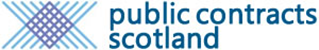 Public Contracts Scotland Logo